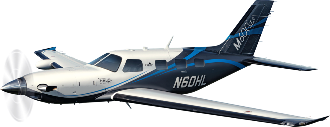 Piper M600/SLS Plane