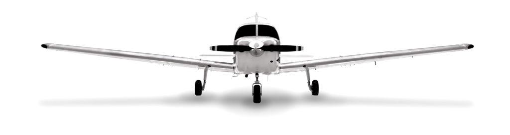 Piper Pilot 100 trainer class rendering
