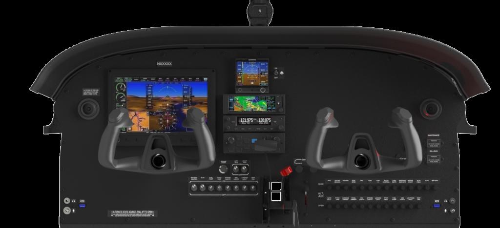 Pilot 100i IFR Avionics Panel