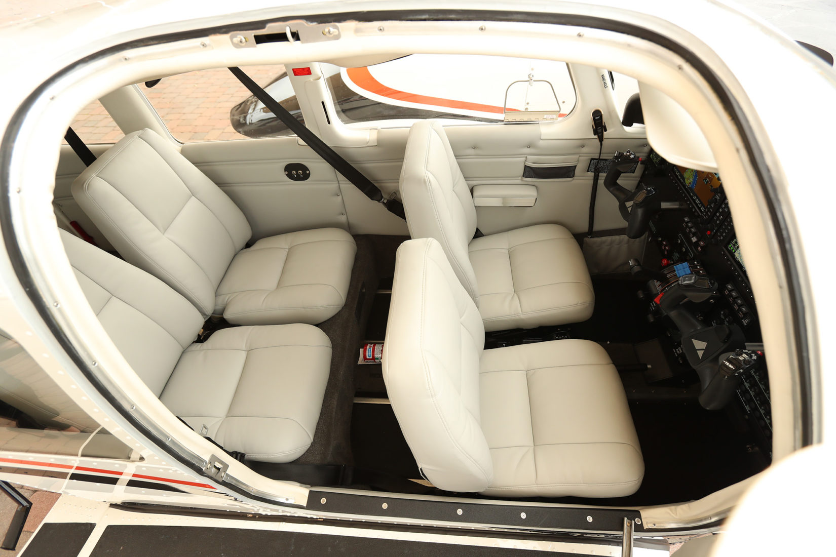 Interior of the Seminole model