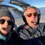 URŠKA and PETER flying an aircraft