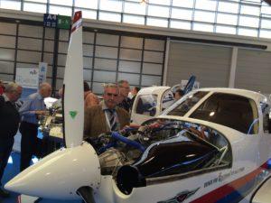 PETER KLINAR behind an aircraft