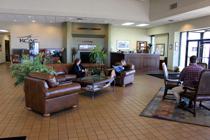 KCAC lobby