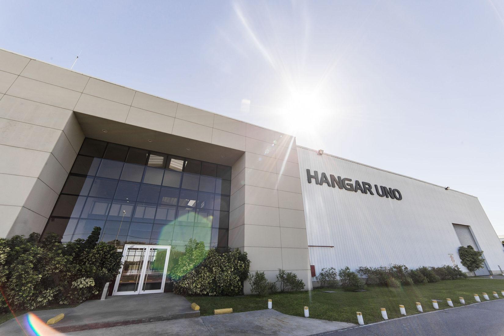 Hangar Uno front entrance