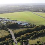 Ariel view of WYCOMBE AIR PARK