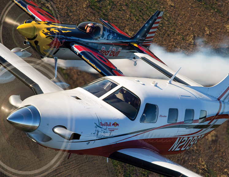 Red Bull Team Piper Aircraft