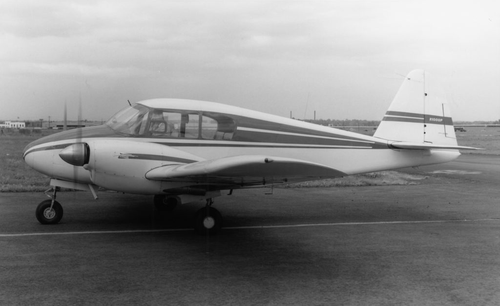 PA23 Apache from Piper Aircraft in black and white