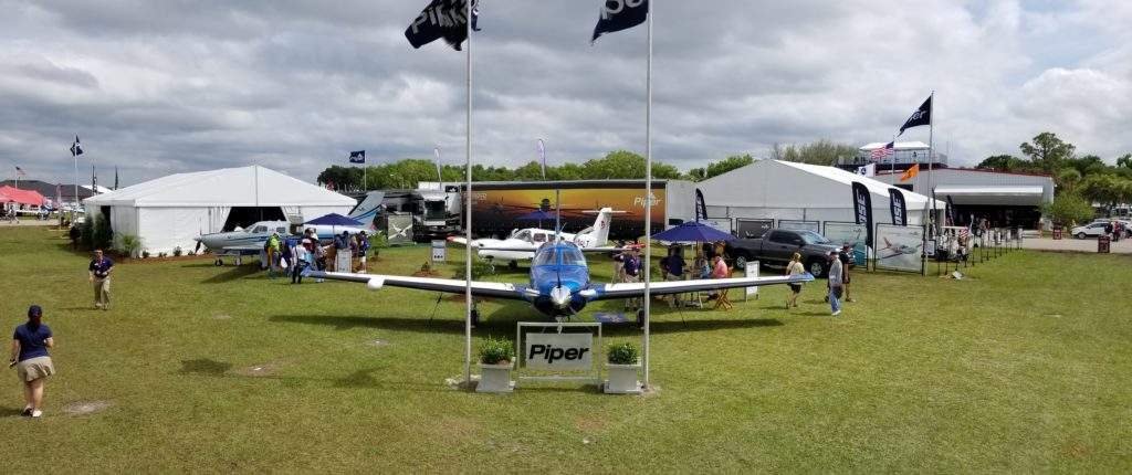 M600 at the EAA booth