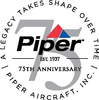 Piper 75th Logo