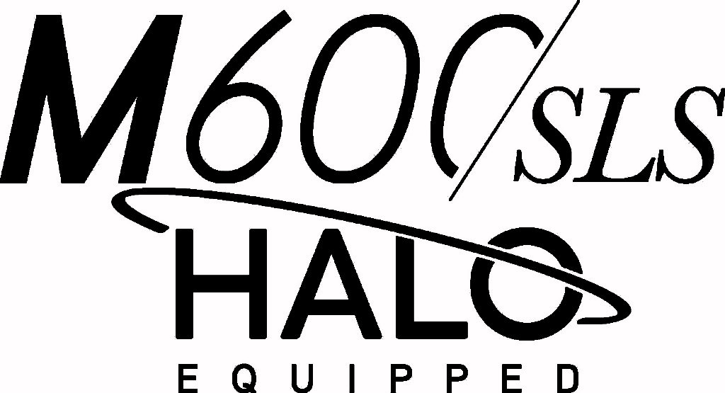M600SLS and HALO logo