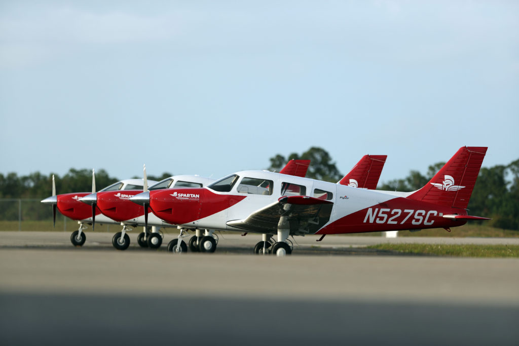 Piper Archer ground fleet for Spartan EL