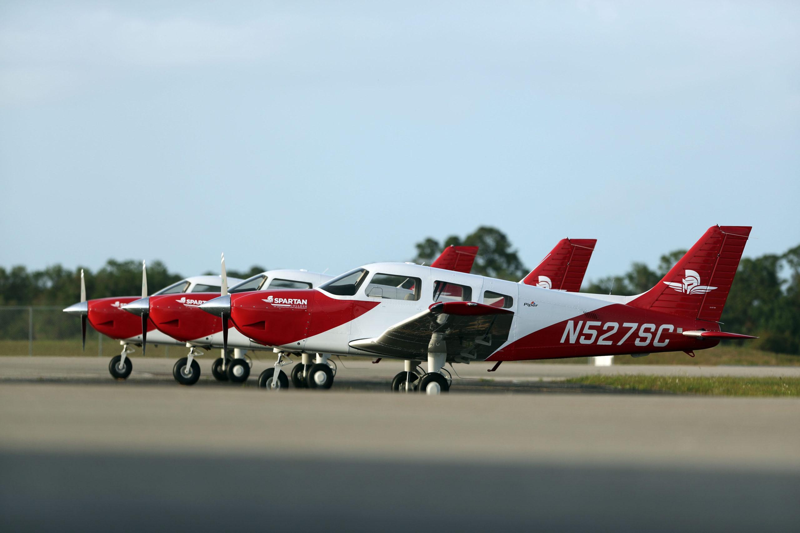 Piper Archer ground fleet for Spartan EL