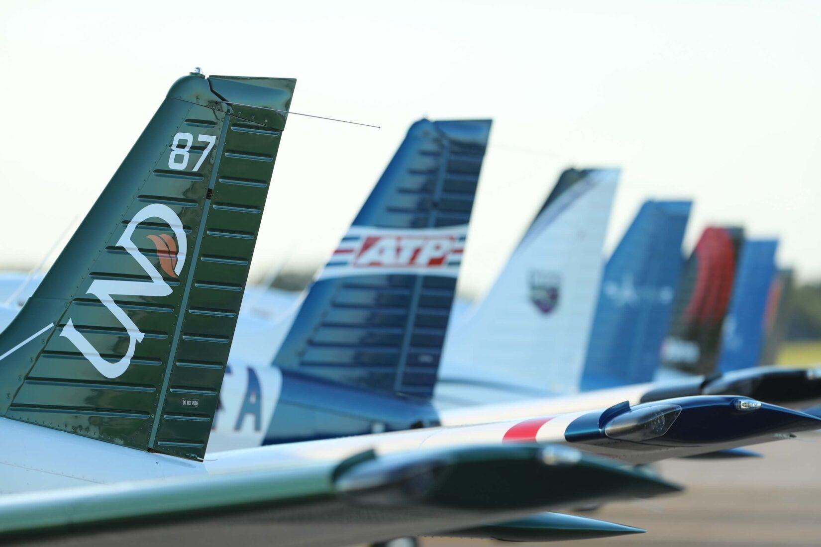 Piper Trainer Fleet Tails