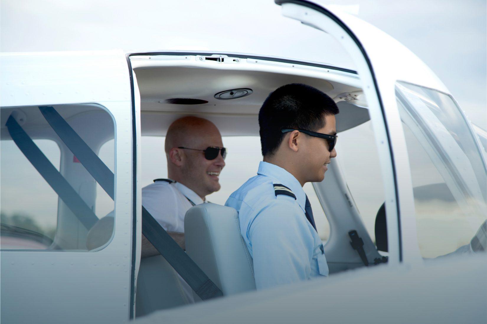 Flight School Pilot & Student